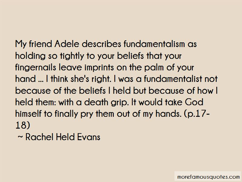 Holding Hand Friend Quotes