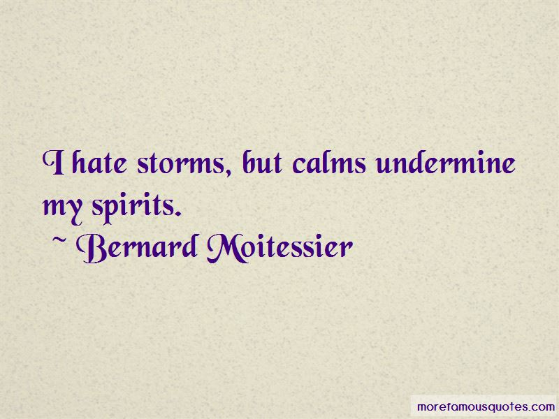 I Hate Storms Quotes