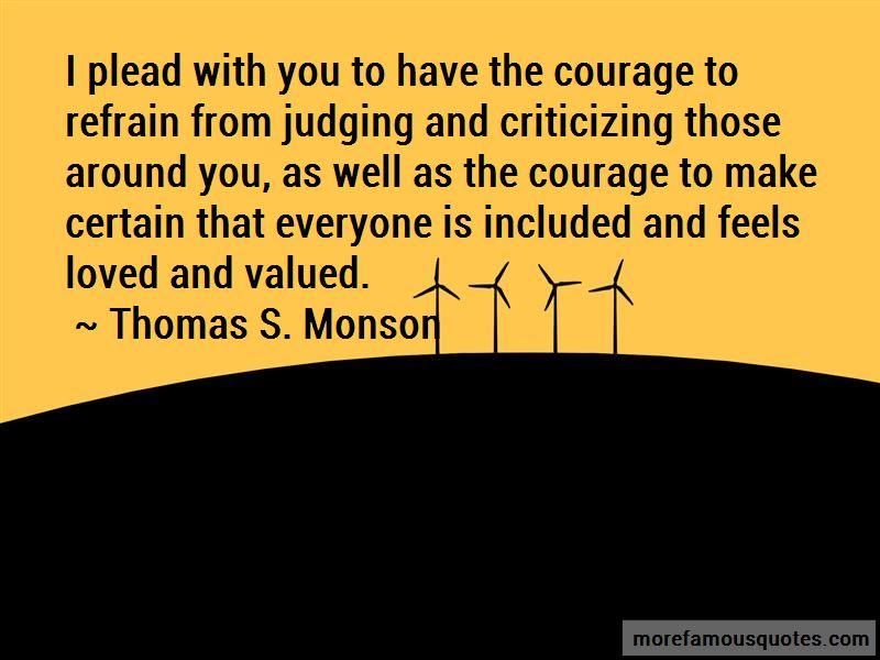 Judging And Criticizing Quotes