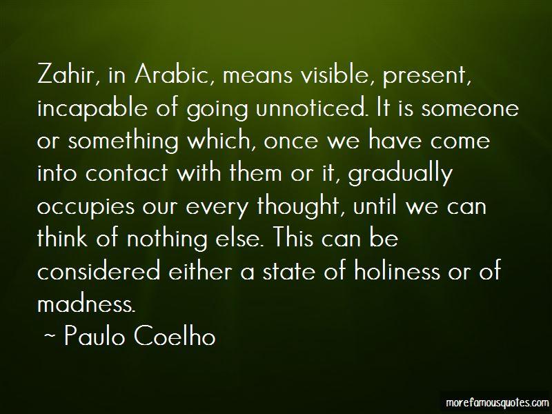Lo Zahir Quotes