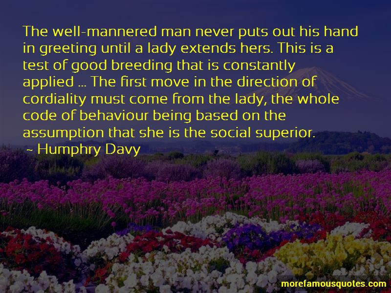 Mannered Man Quotes Pictures 2