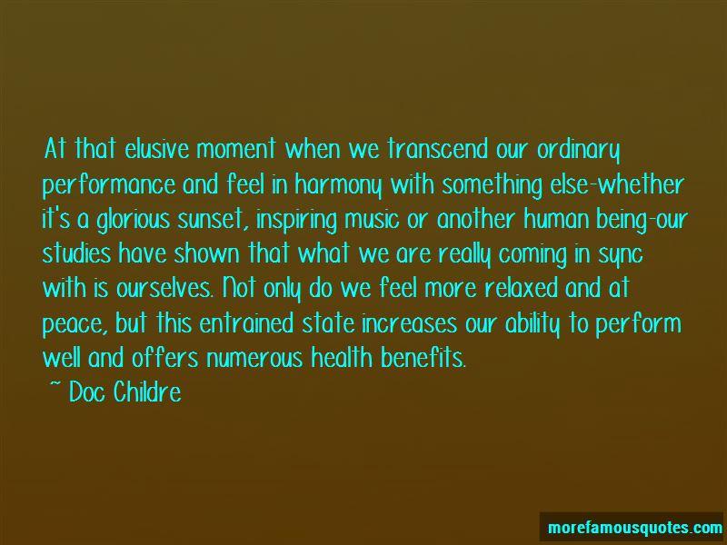 Music Health Benefits Quotes