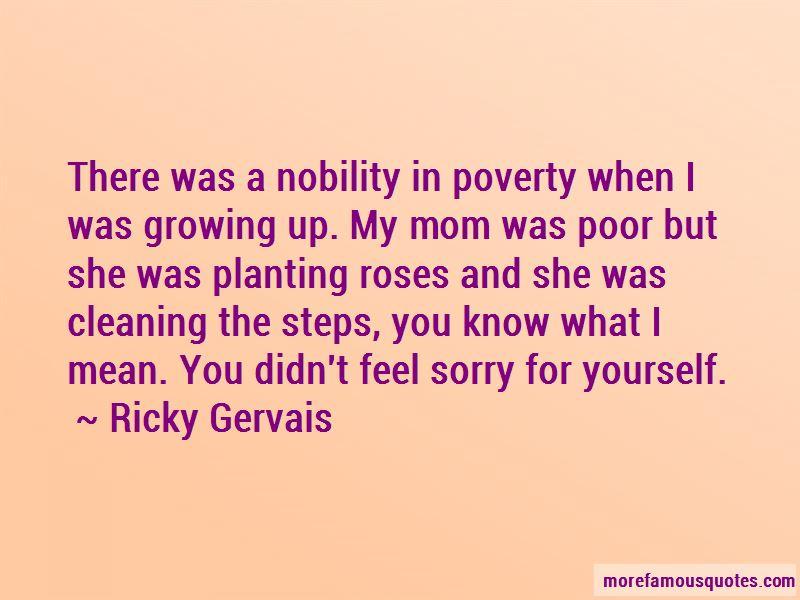 Poverty Nobility Quotes