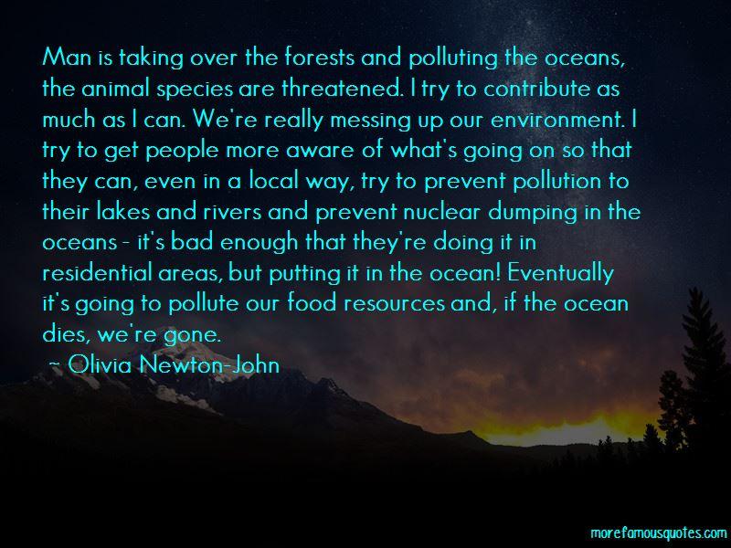 Prevent Pollution Quotes