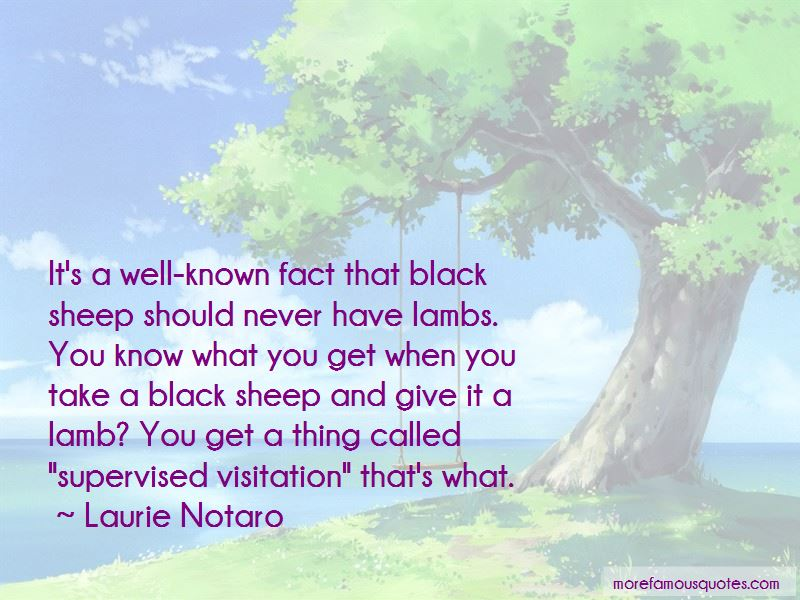 Quotes About A Black Sheep