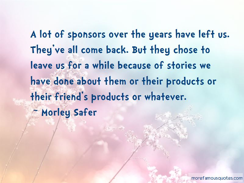 Quotes About Aa Sponsors