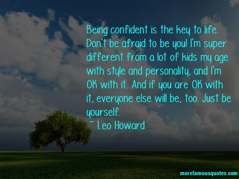 Quotes About Being Confident With Yourself