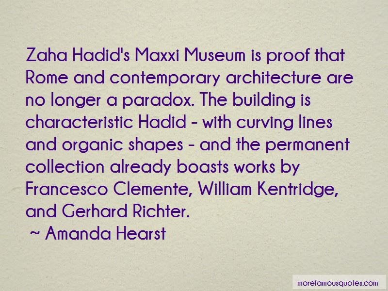 Quotes About Contemporary Architecture