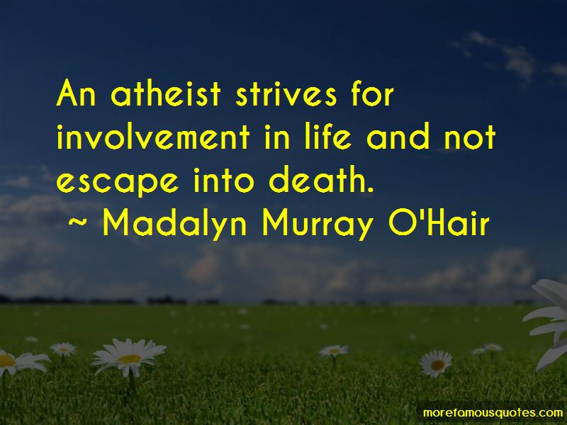 Quotes About Death Atheist