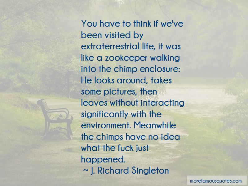 Quotes About Extraterrestrial Life
