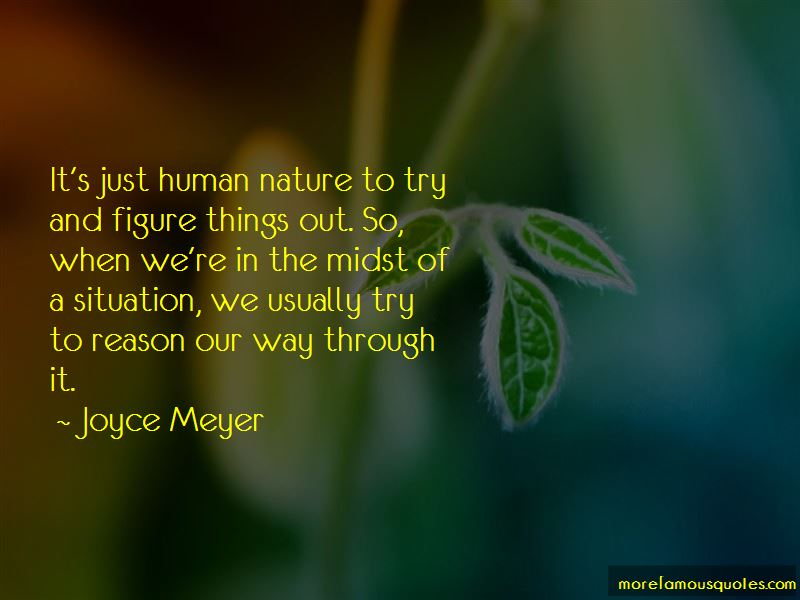 Quotes About Figure Things Out
