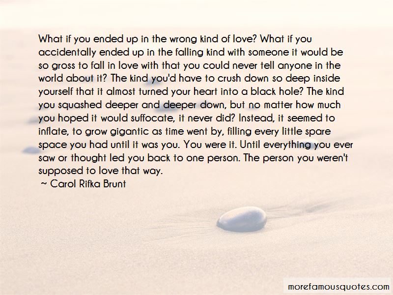 Quotes About Filling A Hole In Your Heart