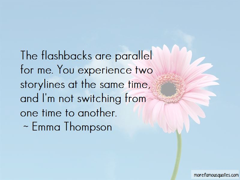 Quotes About Flashbacks