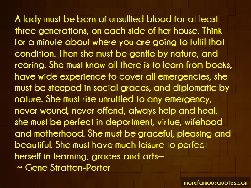 Quotes About Graceful Lady