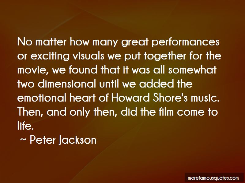 Great Performances Quotes Pictures 2