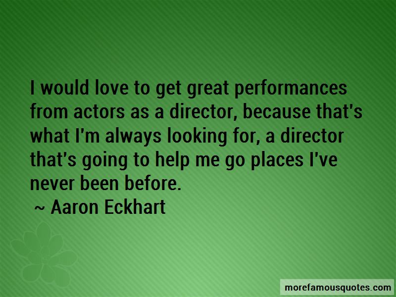 Great Performances Quotes Pictures 4