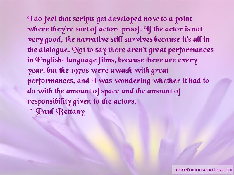Quotes About Great Performances