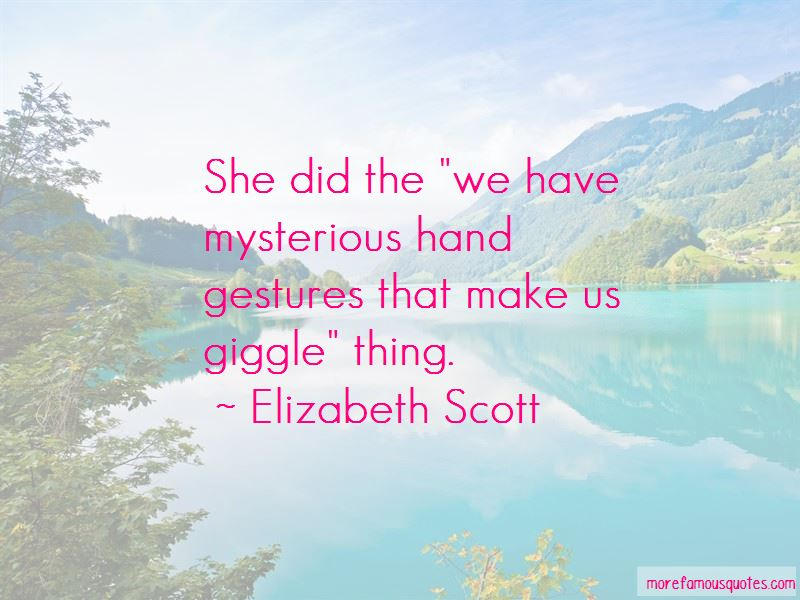 Quotes About Hand Gestures