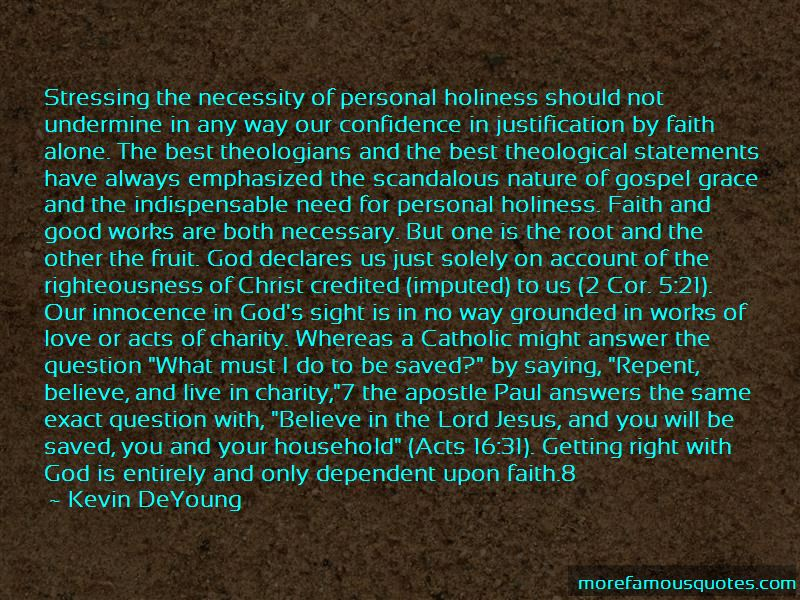 Quotes About Justification By Faith