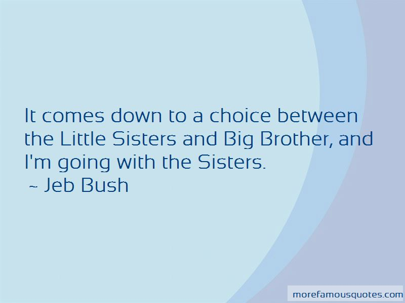 Quotes About Little Sisters And Big Sisters