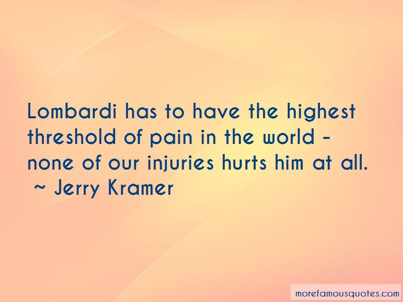 Quotes About Lombardi
