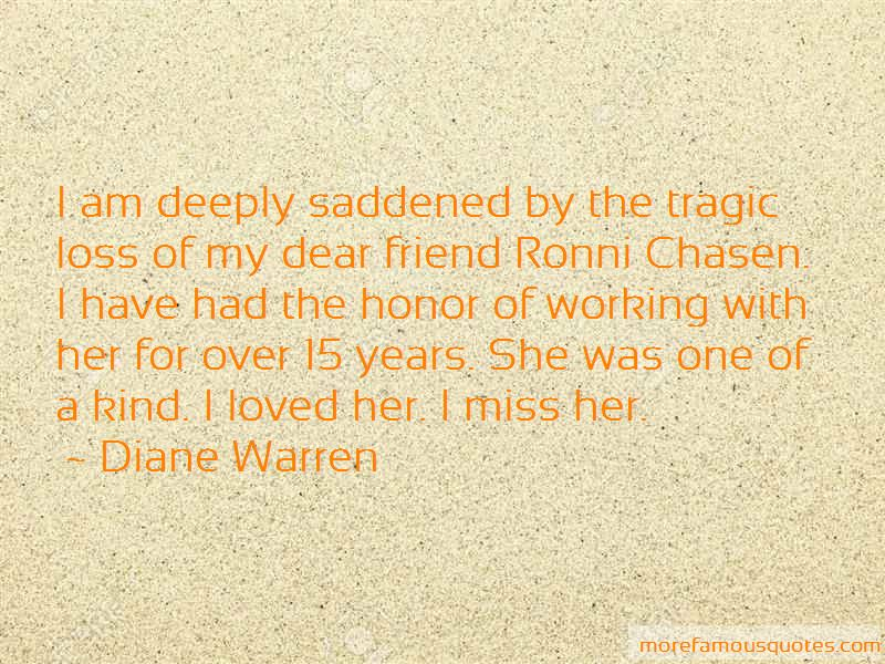 Quotes About Loss Of A Dear Friend