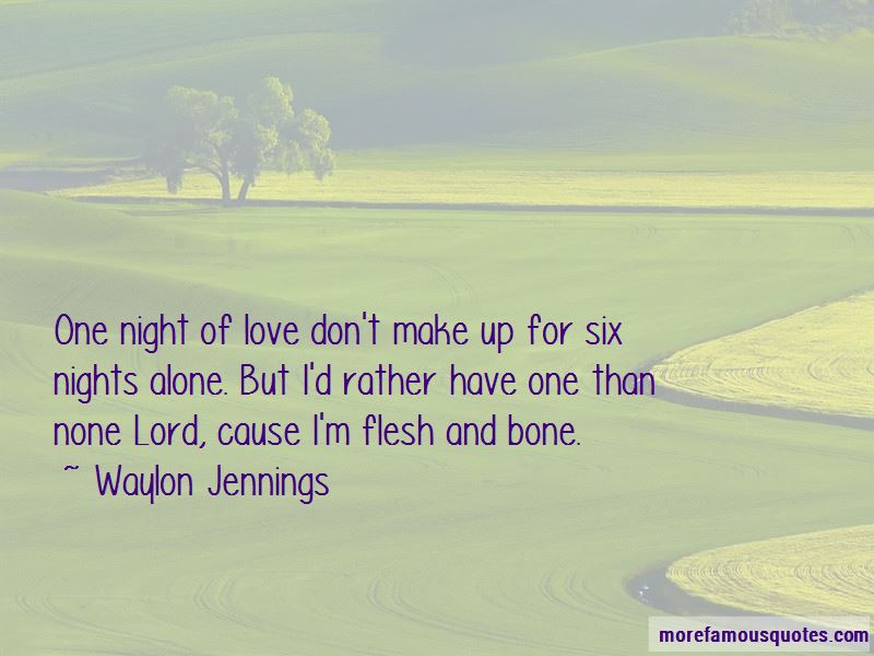 Quotes About Nights Alone
