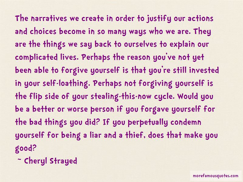 Quotes About Not Forgiving Yourself