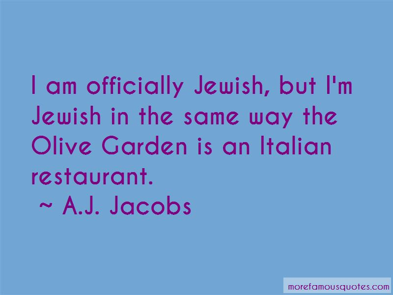 Quotes About Olive Garden
