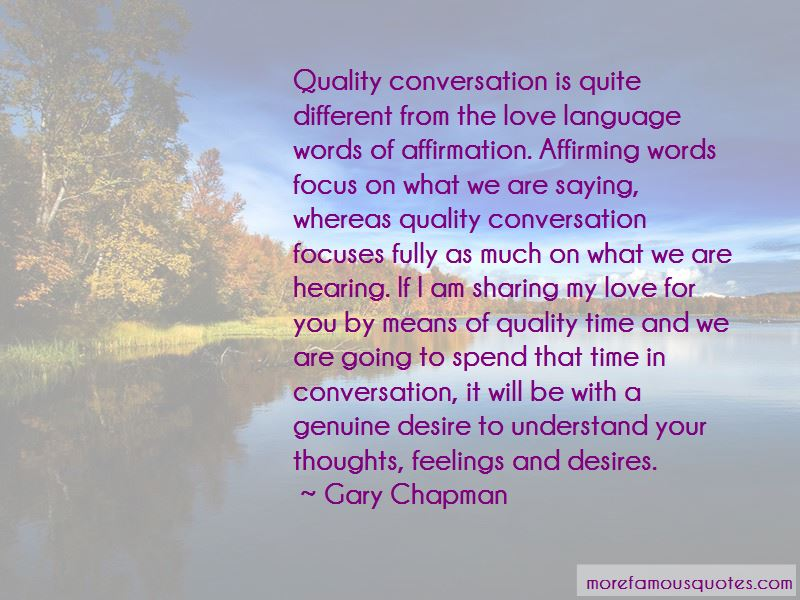 Quotes About Quality Time For Love
