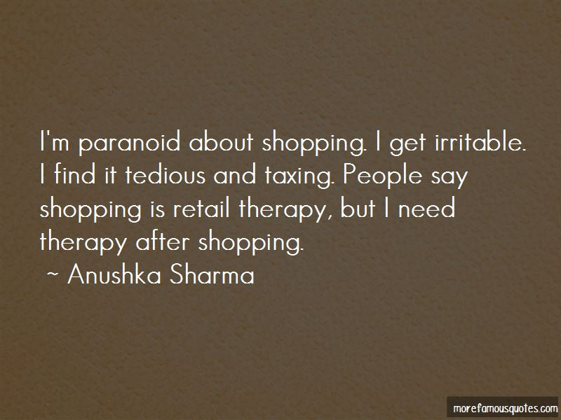 Quotes About Shopping Therapy: top 5 Shopping Therapy quotes ...