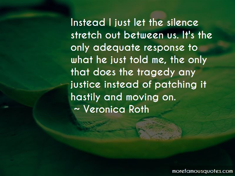 Silence And Justice Quotes Pictures 4