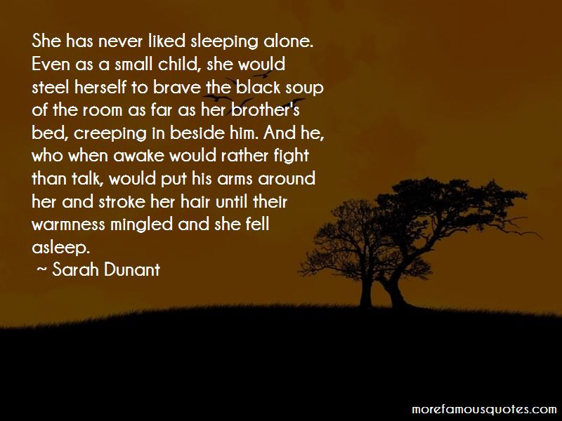 Quotes About Sleeping Alone: top 61 Sleeping Alone quotes ...