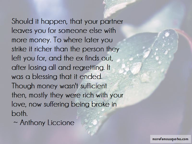 Quotes About Someone Regretting Losing You