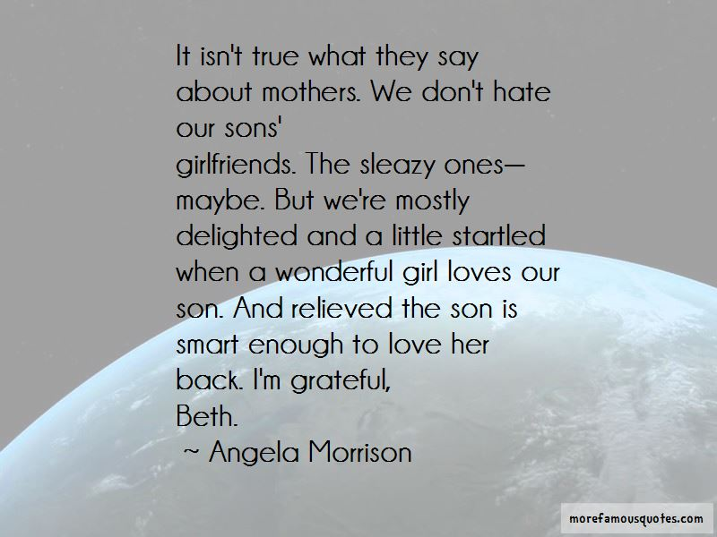 Quotes About Sons And Mothers Love Top 10 Sons And Mothers Love