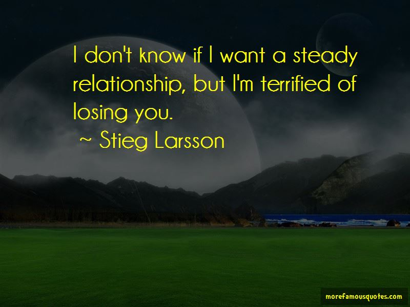 Quotes About Steady Relationship