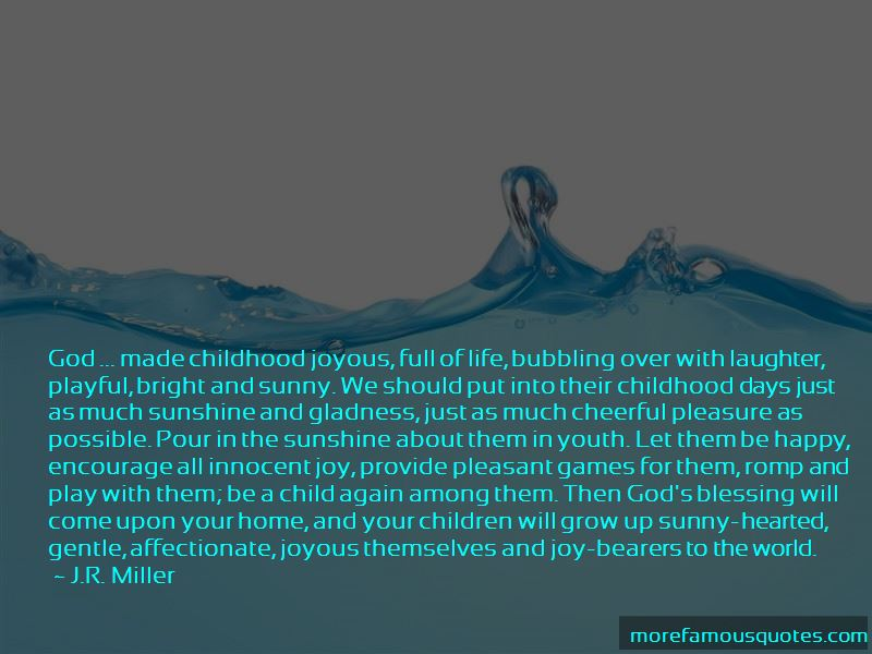 Quotes About Sunshine And God