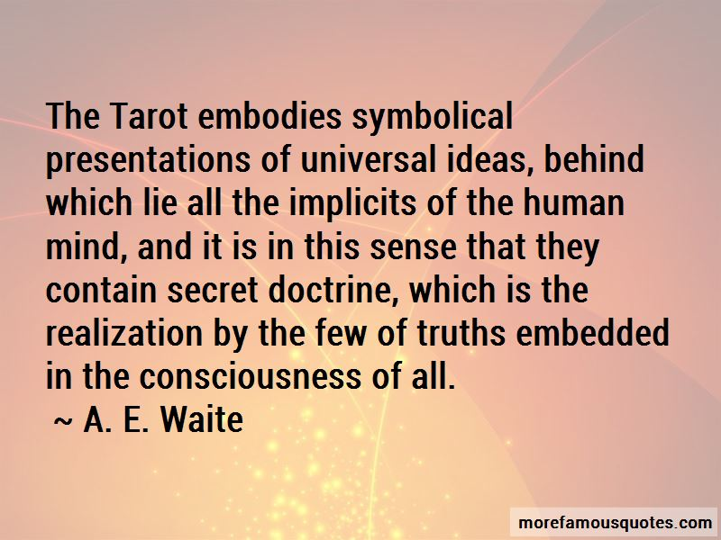 Quotes About Tarot