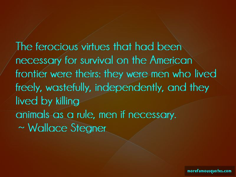 The American Frontier Quotes Pictures 2