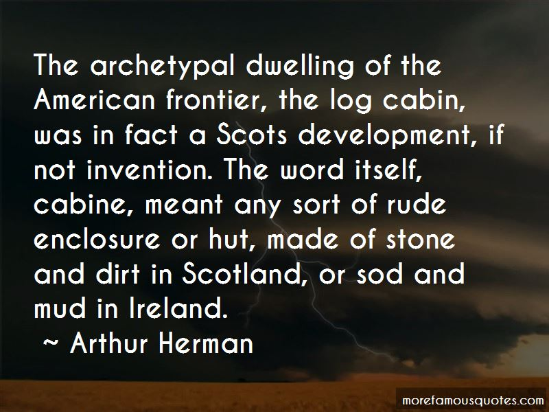 Quotes About The American Frontier