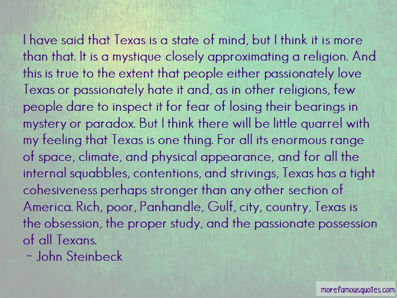 Quotes About The Texas Panhandle
