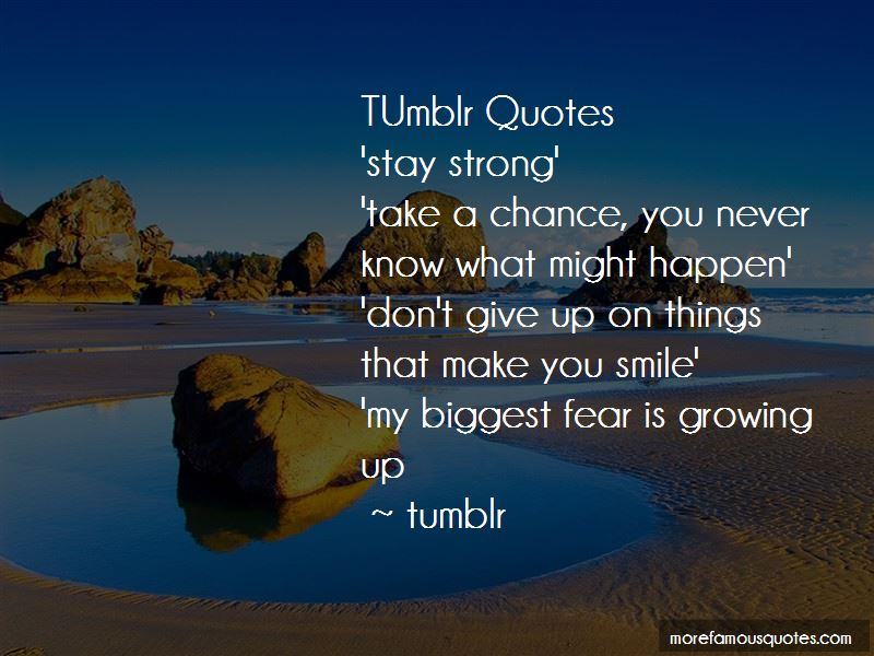 Quotes About Things Tumblr