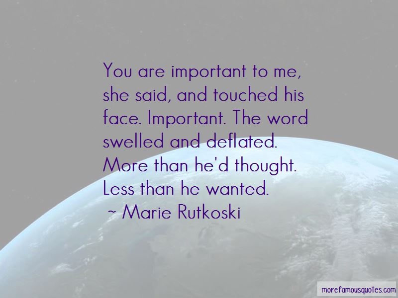 You Are Important Quotes Pictures 4