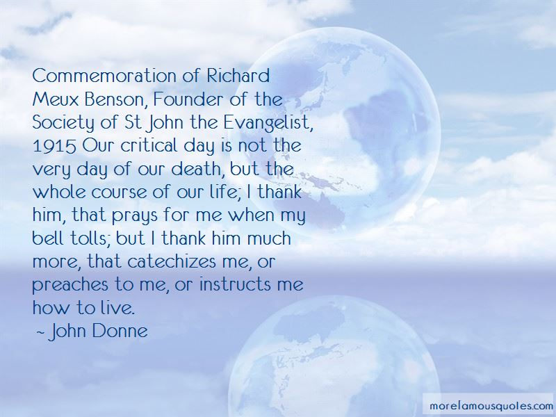 Richard Benson Quotes