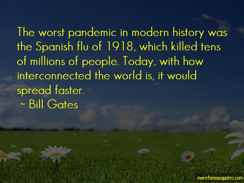Spanish Flu Pandemic Quotes