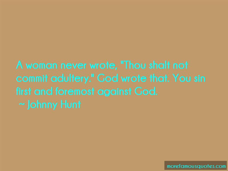 Thou Shalt Not Commit Adultery Quotes
