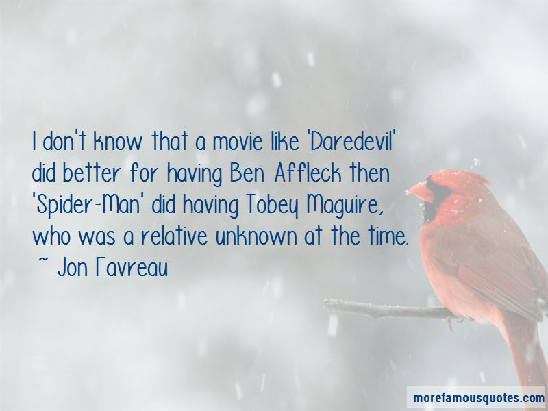 Tobey Maguire Movie Quotes