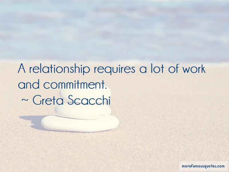 Work And Commitment Quotes