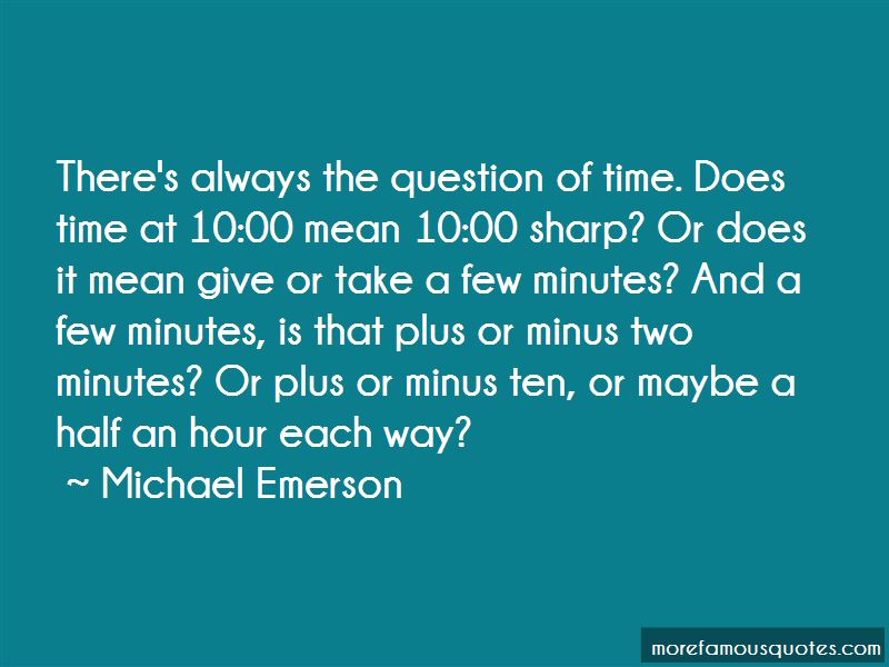10pm Question Quotes