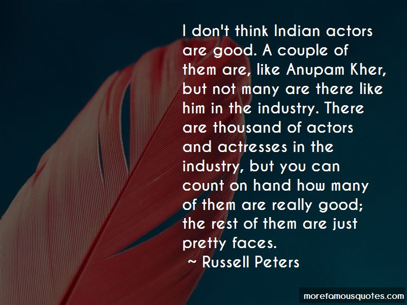 Actors And Actresses Quotes
